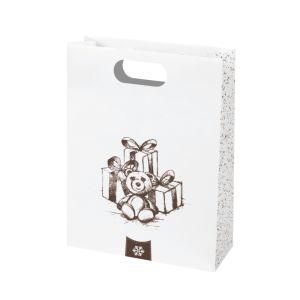 Papierová taška Kraft Shopping