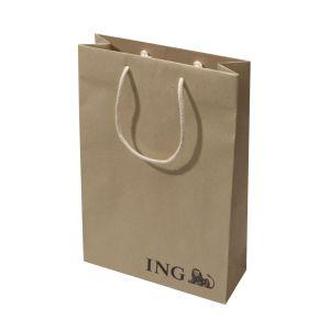 Papierová taška Kraft Premium Eco