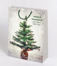 Vianočná taška Kraft Premium 9