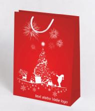 Vianočná taška Kraft Premium 10