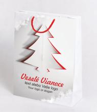 Vianočná taška Kraft Premium 11