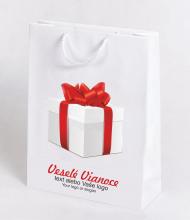 Vianočné taška Kraft Premium 1