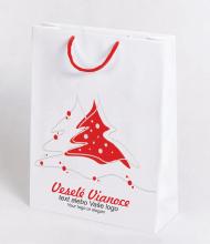 Vianočné taška Kraft Premium 2