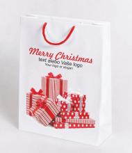 Vianočná taška Kraft Premium 3