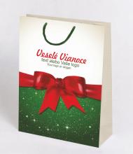 Vianočná taška Kraft Premium 6