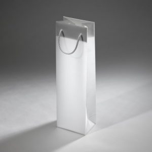 Papierová taška na víno ľadová