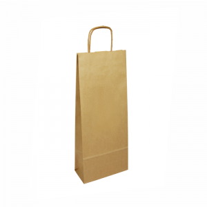 Natural taška na víno 14x8x39cm