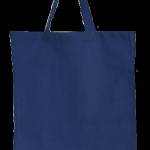 Bavlnená taška námornícka tmavá modrá