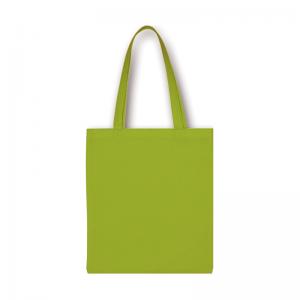 Bavlnená taška olivová s dlhými ušami