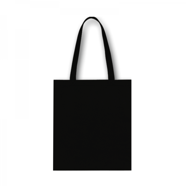Bavlnená taška čierna