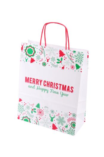 Vianočná taška Kraft Classic