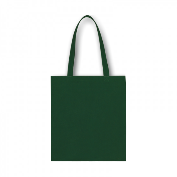 Bavlnená taška tmavo zelená