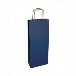 Tmavá modrá taška na víno