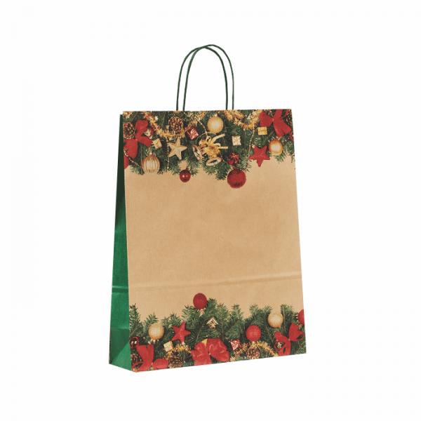 Vianočná papierová taška Cingi Lingi